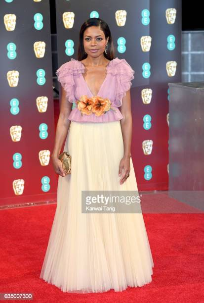 Naomie Harris attends the 70th EE British Academy Film Awards at the Royal Albert Hall on February 12 2017 in London England