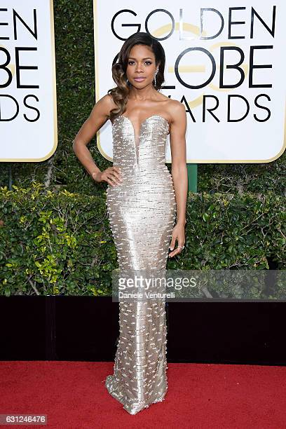 Naomie Harris attends the 74th Annual Golden Globe Awards at The Beverly Hilton Hotel on January 8 2017 in Beverly Hills California