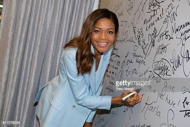 Naomie Harris attends The Build Series Presents The Cast Of 'Moonlight' at AOL HQ on October 21 2016 in New York City