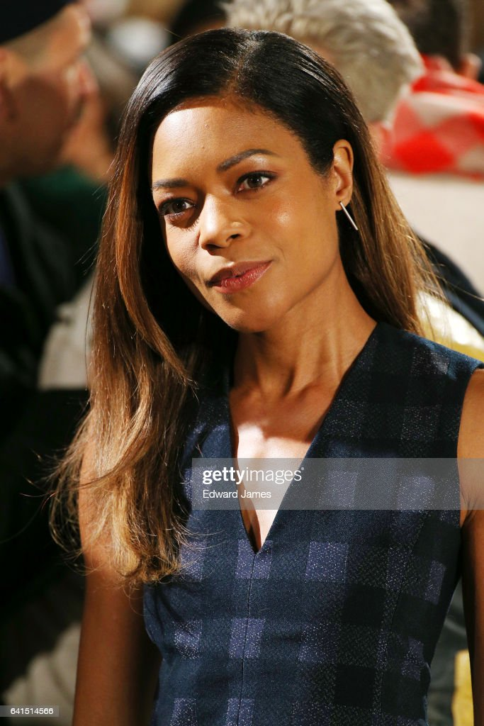 Naomie Harris attends the Calvin Klein Fall/Winter 2017/2018 collection fashion show on February 10, 2017 in New York City.
