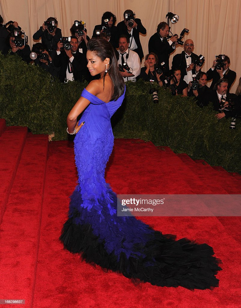<a gi-track='captionPersonalityLinkClicked' href=/galleries/search?phrase=Naomie+Harris&family=editorial&specificpeople=238918 ng-click='$event.stopPropagation()'>Naomie Harris</a> attends the Costume Institute Gala for the 'PUNK: Chaos to Couture' exhibition at the Metropolitan Museum of Art on May 6, 2013 in New York City.
