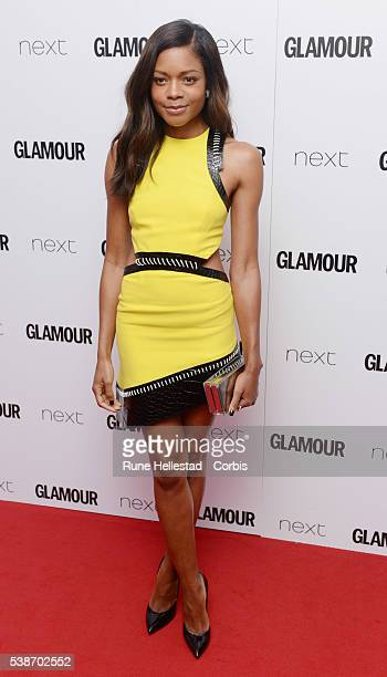 Naomie Harris attends the Glamour Women Of The Year Awards at Berkeley Square Gardens on June 7 2016 in London England