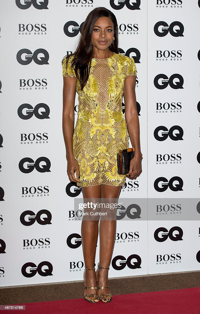 Naomie Harris attends the GQ Men of the Year Awards at The Royal Opera House on September 8, 2015 in London, England.