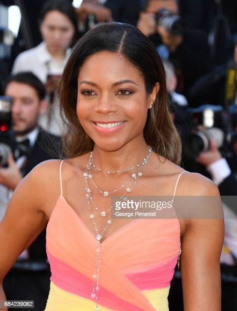 Naomie Harris attends the 'Ismael's Ghosts ' screening and Opening Gala during the 70th annual Cannes Film Festival at Palais des Festivals on May 17...
