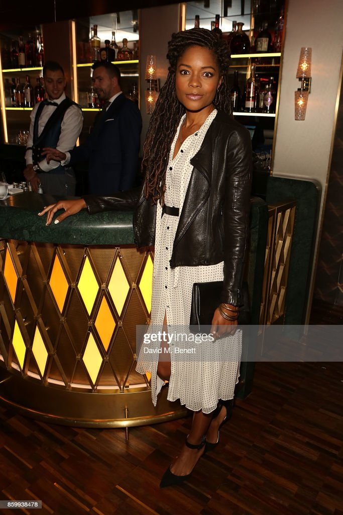 Naomie Harris attends the launch of Leo's at The The Arts Club on October 10, 2017 in London, England.