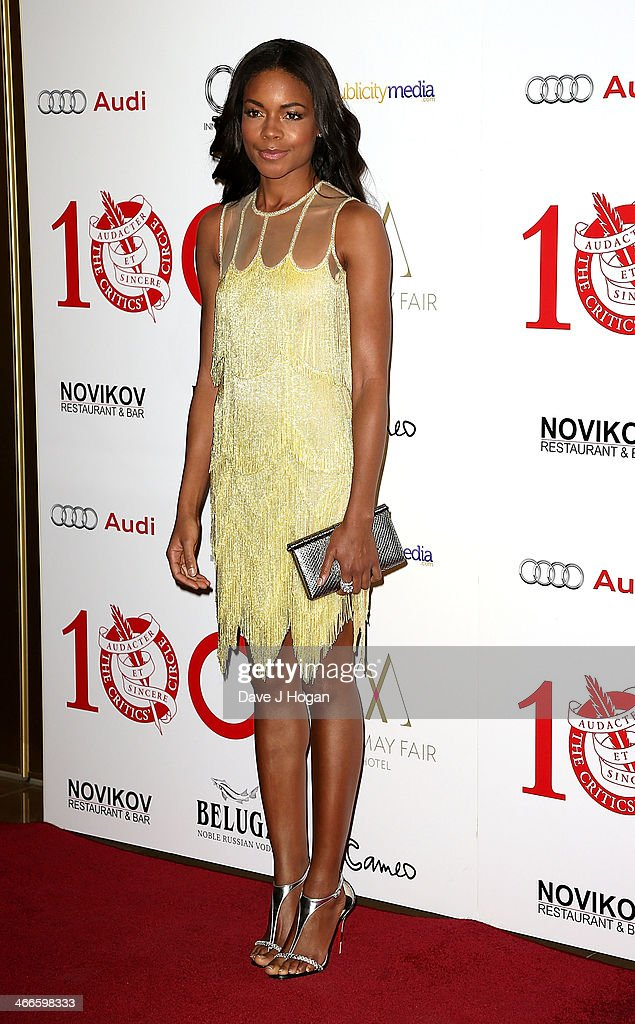 <a gi-track='captionPersonalityLinkClicked' href=/galleries/search?phrase=Naomie+Harris&family=editorial&specificpeople=238918 ng-click='$event.stopPropagation()'>Naomie Harris</a> attends the London Critics' Circle Film Awards at The Mayfair Hotel on February 2, 2014 in London, England.