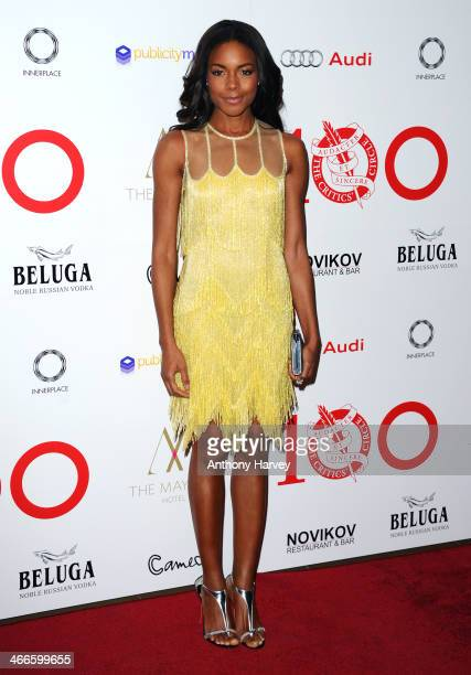 Naomie Harris attends the London Critics' Circle Film Awards at The Mayfair Hotel on February 2 2014 in London England