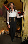Naomie Harris attends the LOUIS XIII '100 Years' preview party at 1112 Walkers Court on February 2 2016 in London England