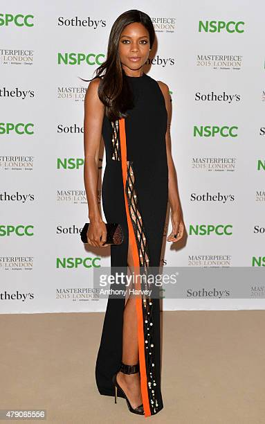 Naomie Harris attends the NSPCC NeoRomantic Art Gala at Masterpiece London on June 30 2015 in London England