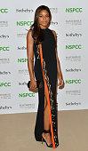 Naomie Harris attends the NSPCC NeoRomantic Art Gala at Masterpiece London on June 30 2015 in London England