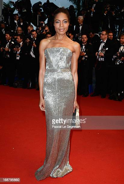 Naomie Harris attends the Opening Ceremony and 'The Great Gatsby' Premiere during the 66th Annual Cannes Film Festival at the Theatre Lumiere on May...
