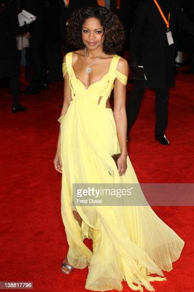 Naomie Harris attends the Orange British Academy Film Awards at The Royal Opera House on February 12 2012 in London England