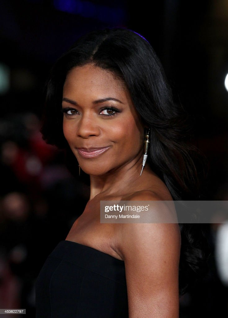 Naomie Harris attends the Royal film performance of 'Mandela: Long Walk To Freedom' at Odeon Leicester Square on December 5, 2013 in London, United Kingdom.