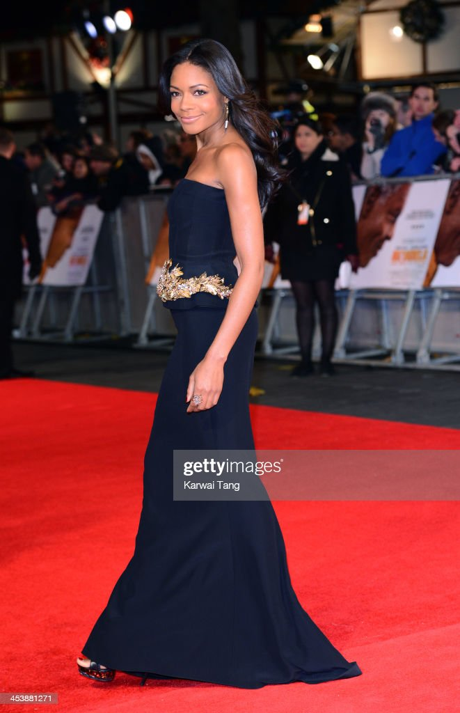 <a gi-track='captionPersonalityLinkClicked' href=/galleries/search?phrase=Naomie+Harris&family=editorial&specificpeople=238918 ng-click='$event.stopPropagation()'>Naomie Harris</a> attends the Royal film performance of 'Mandela: Long Walk To Freedom' held at the Odeon Leicester Square on December 5, 2013 in London, United Kingdom.