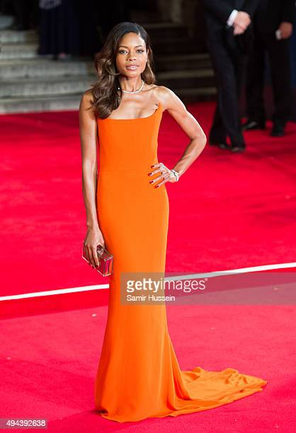 Naomie Harris attends the Royal Film Performance of 'Spectre' at Royal Albert Hall on October 26 2015 in London England