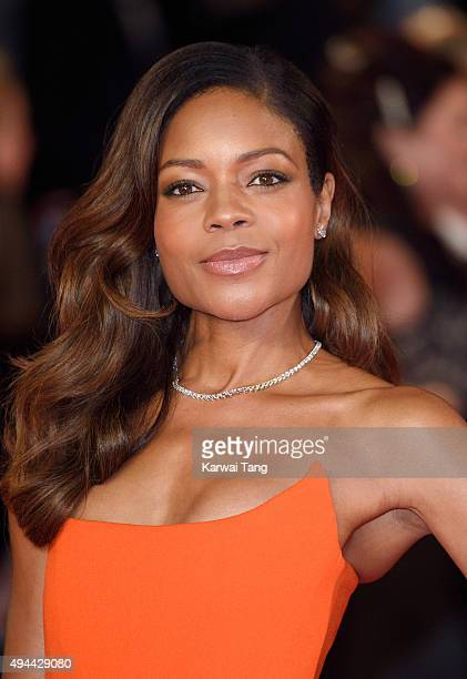 Naomie Harris attends the Royal Film Performance of 'Spectre' at the Royal Albert Hall on October 26 2015 in London England