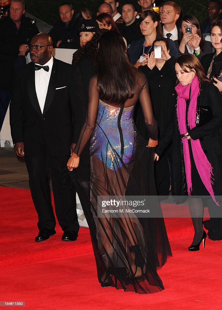 Naomie Harris attends the Royal World Premiere of 'Skyfall' at the Royal Albert Hall on October 23, 2012 in London, England.