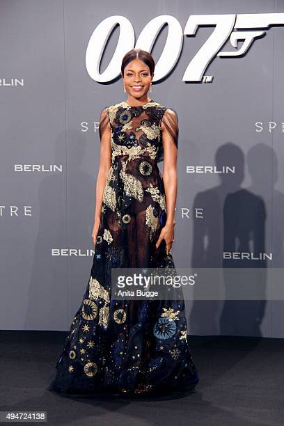 Naomie Harris attends the 'Spectre' Germany premiere in on October 28 2015 in Berlin Germany