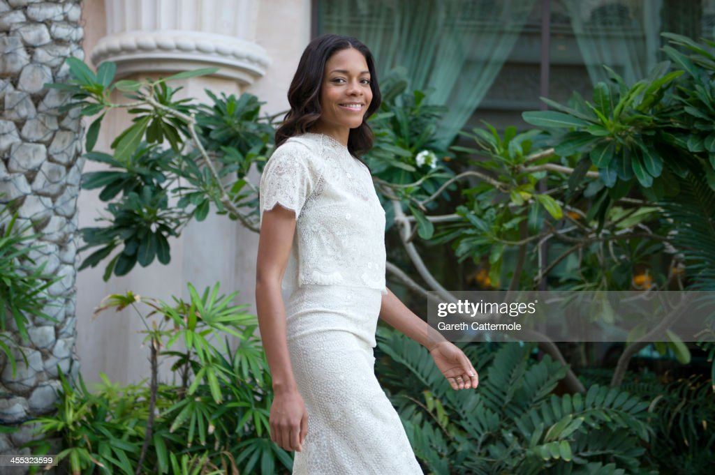<a gi-track='captionPersonalityLinkClicked' href=/galleries/search?phrase=Naomie+Harris&family=editorial&specificpeople=238918 ng-click='$event.stopPropagation()'>Naomie Harris</a> during a portrait session at the 10th Annual Dubai International Film Festival held at the Madinat Jumeriah Complex on December 12, 2013 in Dubai, United Arab Emirates.