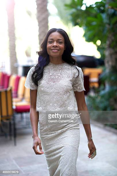 Naomie Harris during a portrait session at the 10th Annual Dubai International Film Festival held at the Madinat Jumeriah Complex on December 12 2013...