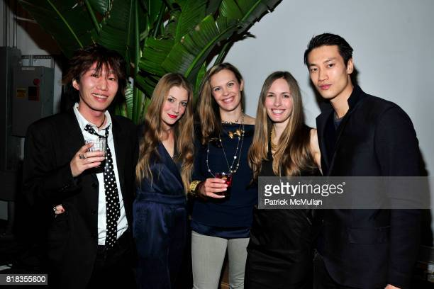 Naoto Akike Kristen Beecy Ana Schechter Rachael Jones and Philip Whuang attend PIER 59 Studios 15th Anniversary Party at PIER 59 Studios on February...