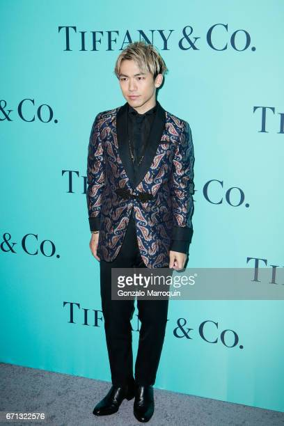 Naoto attends the Tiffany Co 2017 Blue Book Collection Gala Arrivals at St Annâs Warehouse on April 21 2017 in New York Cit