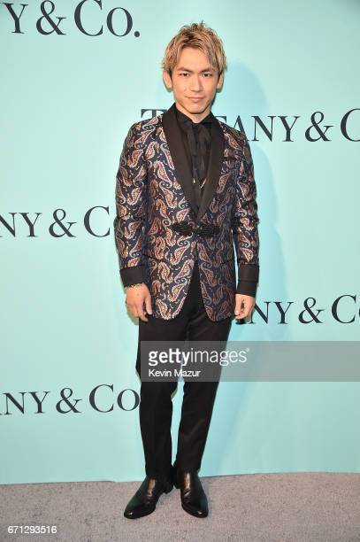Naoto attends Tiffany Co Celebrates The 2017 Blue Book Collection at ST Ann's Warehouse on April 21 2017 in New York City