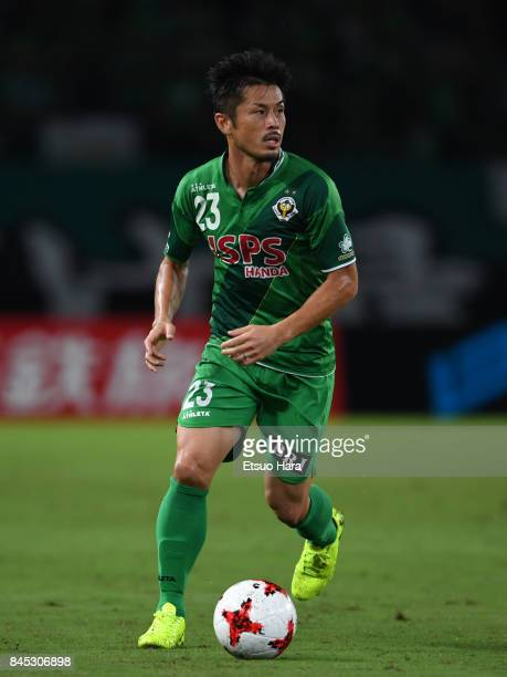 Naoya Tamura of Tokyo Verdy in action during the JLeague J2 match between Tokyo Verdy and Matsumoto Yamaga at Ajinomoto Stadium on September 10 2017...