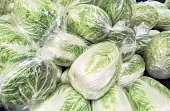 Napa cabbage - vegetable  - @ retail store