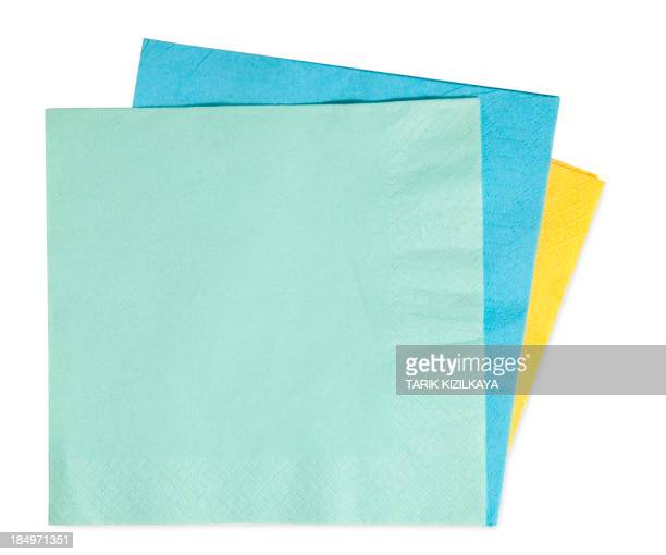 napkins isolated on white background