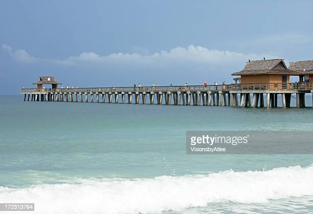 Naples Florida Pier on the Gulf of Mexico