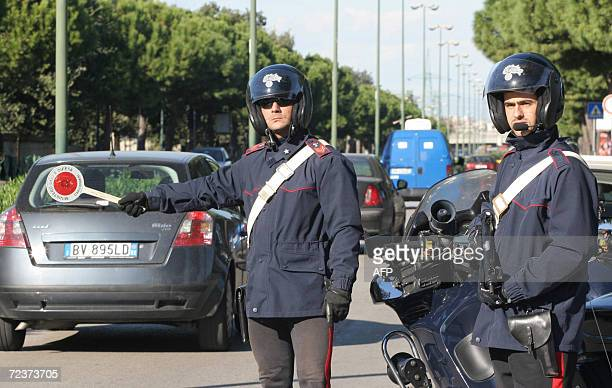 Italian Carabinieri patrol in the streets of central Naples 03 November 2006Prime Minister Romano Prodi visited the city on Thursday pledging a...