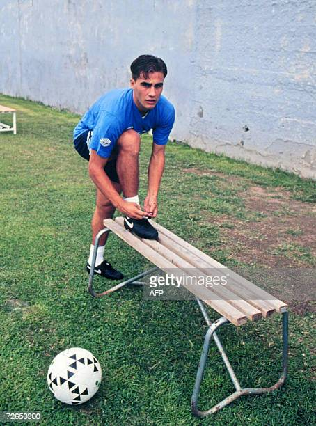 Picture taken during the 199091 season of Italian defender Fabio Cannavaro as he was at the Naples football academyThe 2006 'Ballon d'Or' is due to...