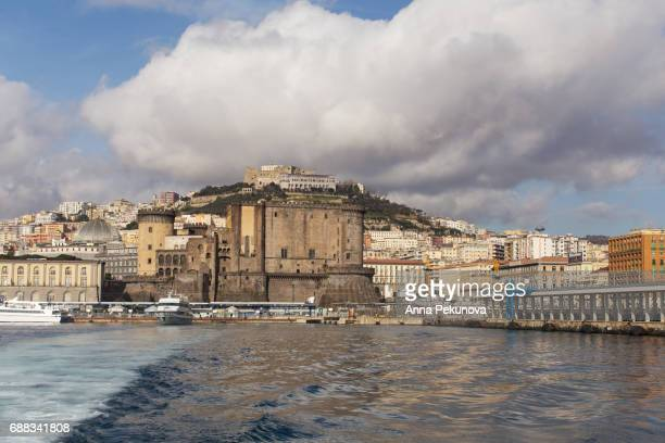 Naples, Italy, seen from the sea