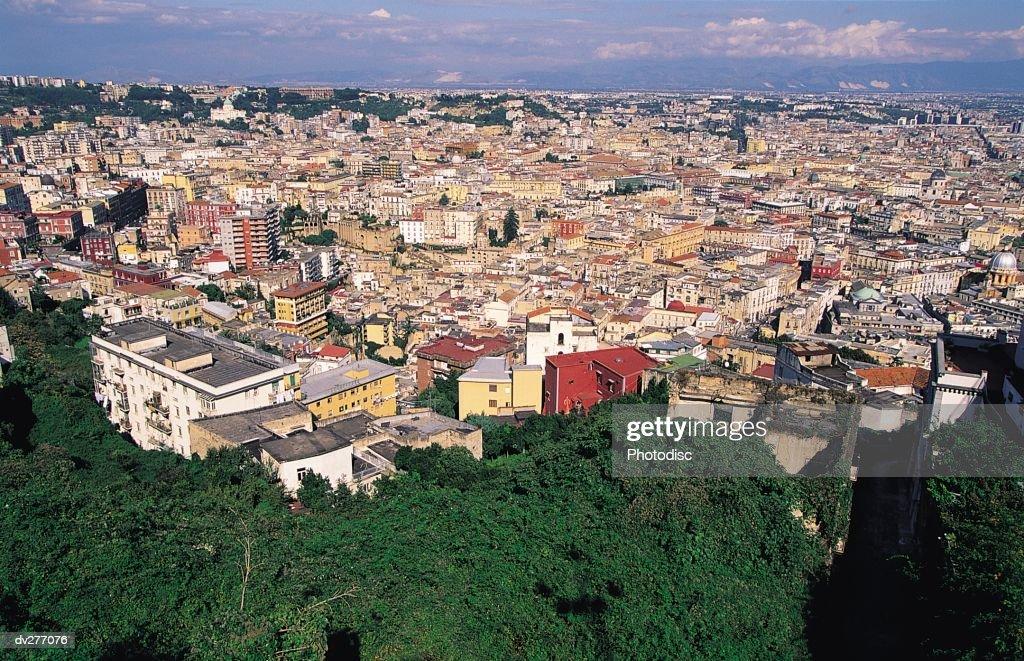 Naples rooftops : Stock Photo