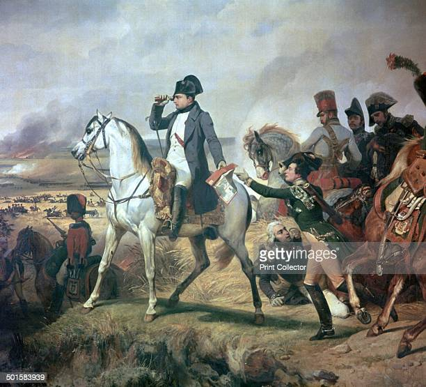 Napoleon at the Battle of Wagram on 6th July 1809 in Versailles Palace 19th century