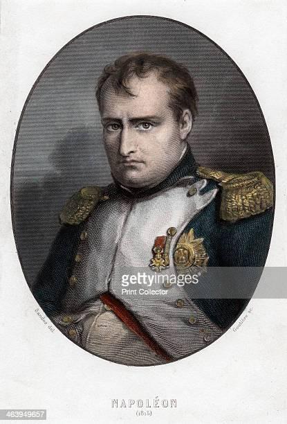 Napoleon Bonaparte 1840 Portrait of Napoleon Bonaparte made in the year of the Battle of Waterloo Napoleon enjoyed a meteoric rise through the ranks...