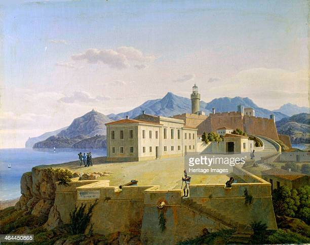 'Napoleon Bonaparte in Portoferraio' 1814 Napoleon on the island of Elba during his first period of exile Found in the collection of the State...