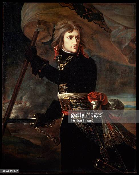 'Napoleon Bonaparte on the Bridge at Arcole' 1797 Gros Antoine Jean Baron Found in the collection of the State Hermitage St Petersburg