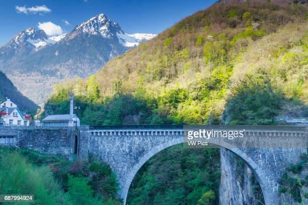 Napoleon Bridge LuzSaintSauveur HautesPyrenees department MidiPyrenees region France Europe