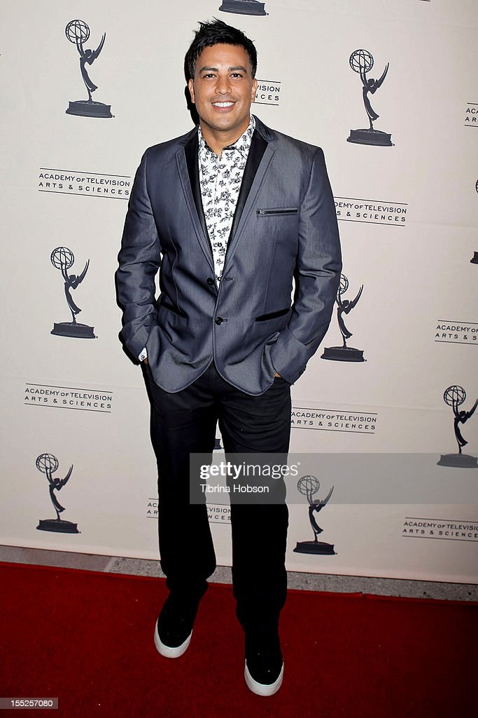 Napoleon D'Umo attends the Academy of Television Arts & Sciences' 'The Choreographers: Yesterday, Today & Tomorrow' event at Leonard H. Goldenson Theatre on November 1, 2012 in North Hollywood, California.