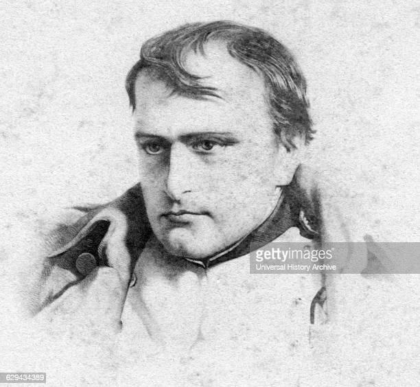 Napoleon I Portrait Small Cabinet Card
