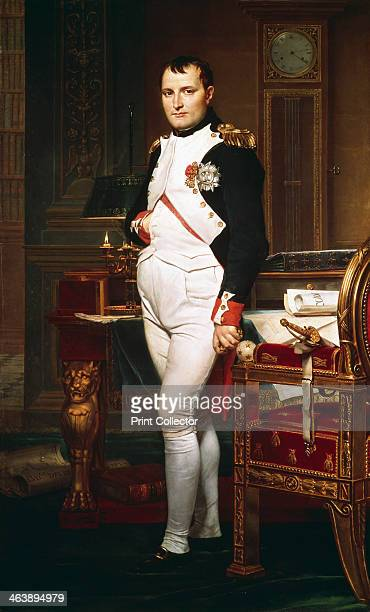 'Napoleon in his Study' 1812 Napoleon Bonaparte enjoyed a meteoric rise through the ranks of the French Revolutionary army In 1799 he led a coup to...