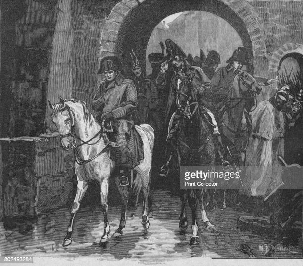 Napoleon Rode Away With A Small Suite Through St Peter's Gate 1902 The Battle of Leipzig or Battle of the Nations the coalition led by Tsar Alexander...
