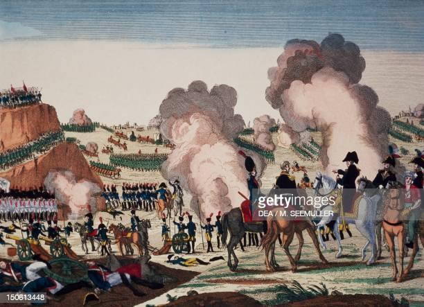 Napoleon winning the Battle of Jena October 15 1806 Napoleonic Wars Germany 19th century