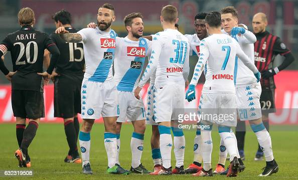 AC Milan v SSC Napoli - Serie A : News Photo
