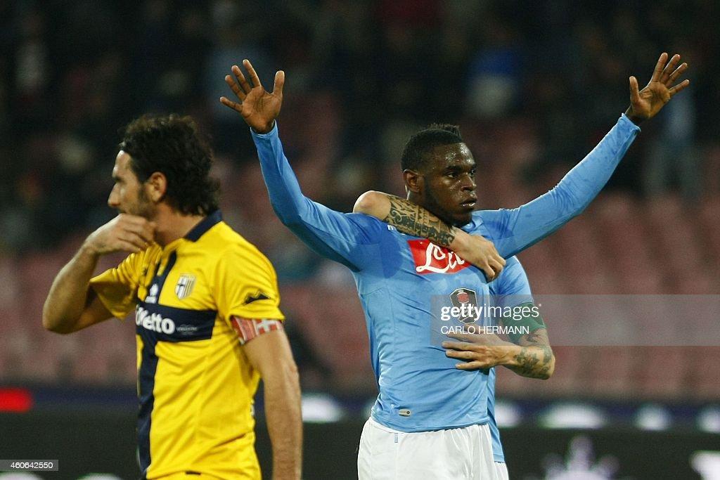 SSC Napoli v FC Parma - Serie A