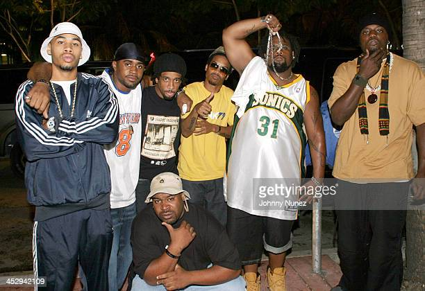 Nappy Roots' R Prophet B Stille Ron Clutch DJ BE Skinny Deville Big V and Scales