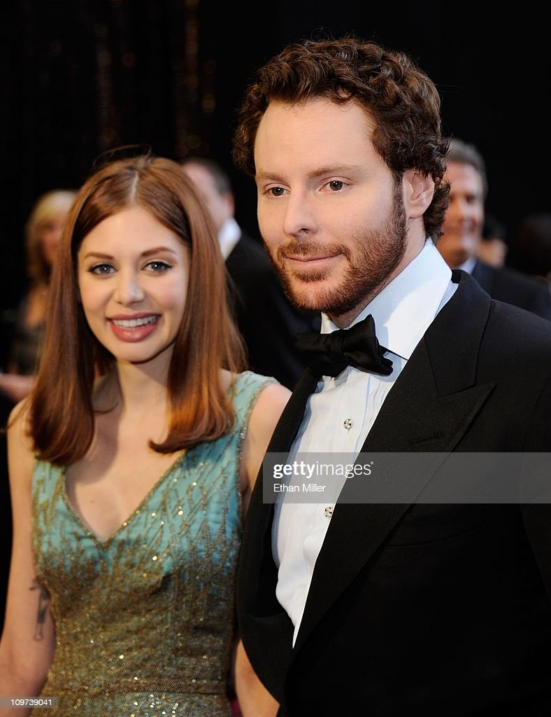 Napster co-founder and Facebook founding president Sean Parker (R) and his girlfriend Alexandra Lenas arrive at the 83rd Annual Academy Awards at the Kodak Theatre February 27, 2011 in Hollywood, California.