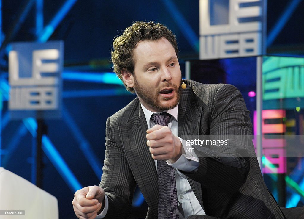 Napster co-founder, Sean Parker, General Partner of Founders Fund, talks at LeWeb 11 event in Saint-Denis, suburbs of Paris, on December 9, 2011. Top industry entrepreneurs, executives, investors, senior press and bloggers gathered during three days to explore the key issues and opportunities in the web marketplace.